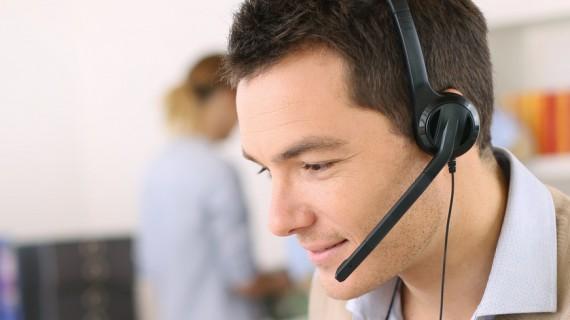 Vår hyggelige kundeservice hjelper deg
