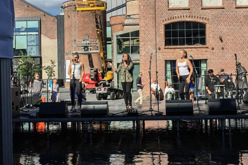 Morgendagens artister på Elvefestivalen
