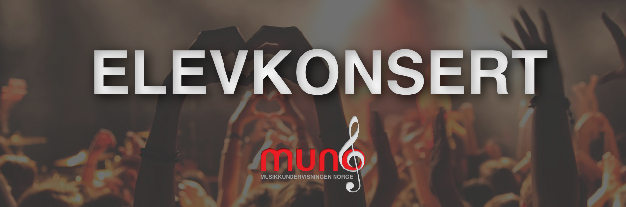 Elevkonsert Muno - Musikkeundervisningen Norge