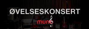 Øvelseskonsert Muno