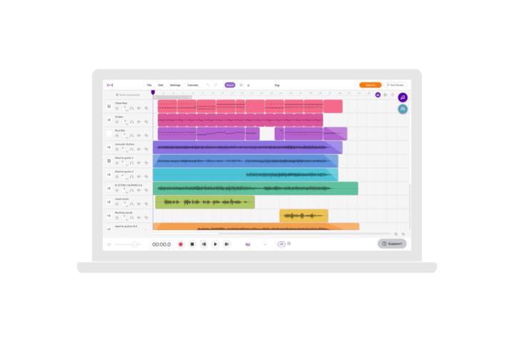 Gratis Soundtrap-konto til alle i Muno!