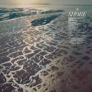 Fleet Foxes Shore cover art - et bilde av havet på solnedgang